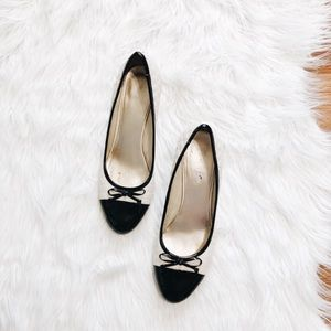 Nine West Vintage Two Tone Kitten Heels